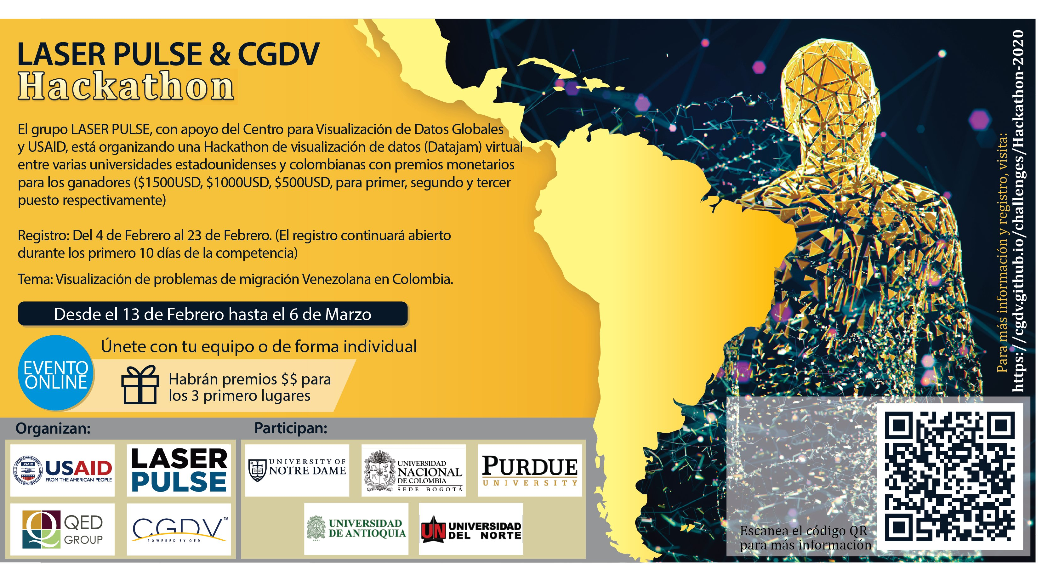 Hackaton 'Visualizing Venezuelan Migration Issues in Colombia'